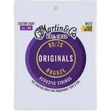 Martin Acoustic Strings Custom Light Bronze M175