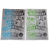 Funko Marvel Avengers Shirts - Thor VS Ultron Or Hulk VS Ultron T-Shirt - Collector Corps Exclusive - New In Package