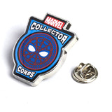 Marvel Collector Corps Spider-Man Homecoming Souvenir Pin Badge Hologram Logo New Mint