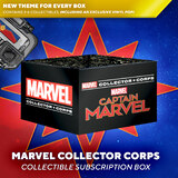 Funko Marvel Collector Corps Subscription Box - March 2019 Captain Marvel - New, Mint Condition