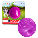 Bionic Ball by Outward Hound - Super Durable Ball Toy - Medium, Purple