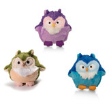 Outward Hound Howling Hoots Plush Dog Toy With Squeaker - 3 Colour Options