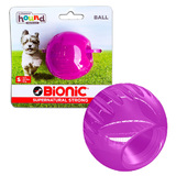 Bionic Ball by Outward Hound - Super Durable Ball Toy - Small, Purple