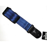 Guitar Strap by Perri's - Acoustic, Electric or Bass - Shiny Blue
