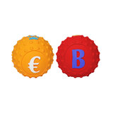 Supportive Solutions Small Latex Pet Balls - Two Pack (Petzplus Format)