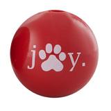 Planet Dog Orbee Tuff Holiday Joy Ball - Small, Red