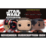 Funko Smugglers Bounty Subscription Box - November 2017 The Last Jedi - New