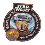 Star Wars Smuggler's Bounty Souvenir Patch Princess Leia (Boussh) Mint Condition
