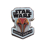 Star Wars Smuggler's Bounty Souvenir Pin Badge Rebels Sabine Wren Mint Condition