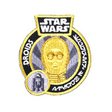 Star Wars Smuggler's Bounty Souvenir Patch Droids - C-3PO - New, Mint Condition