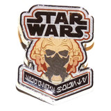 Star Wars Smuggler's Bounty Souvenir Pin Badge - Jedi - Plo Koon - New, Mint Condition