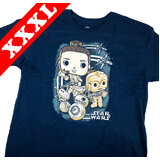 Star Wars Smugglers Bounty Rey The Rise Of Skywalker POP Tee T-Shirt - New [Size: XXXL]
