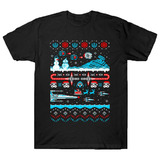 "TeeFury ""Ugly Star Wars Christmas"" T Shirt Mens Size Large NEW"