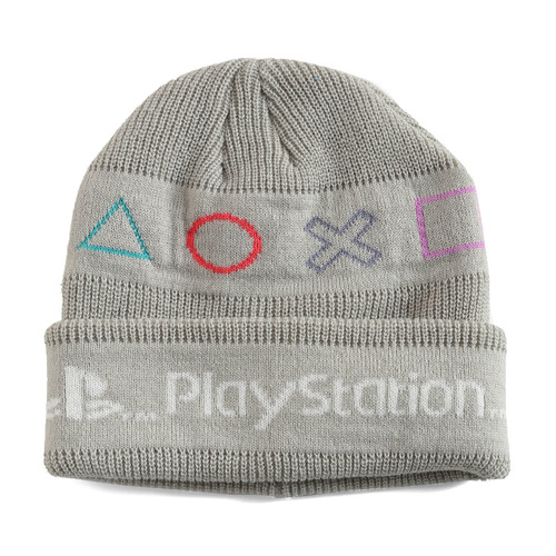 Playstation Licensed Controller Buttons Beanie Hat - New