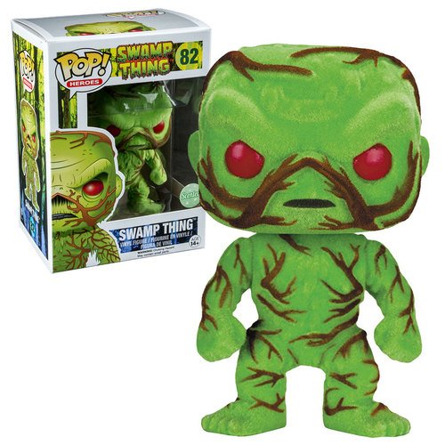 Funko POP! DC #82 Swamp Thing (Scented & Flocked) EXCLUSIVE New Mint