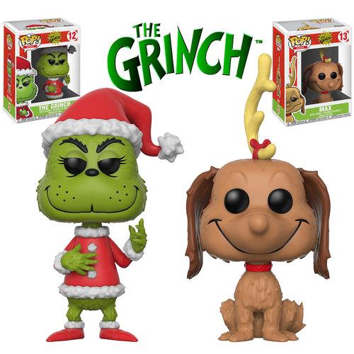 Funko Pop Books Dr Seuss The Grinch Bundle 2 Pops