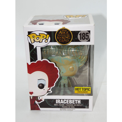 Funko POP! Disney Alice Through The Looking Glass #185 Iracebeth (Patina) - Hot Topic Exclusive Import - New Box Damaged