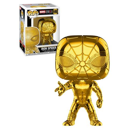 Funko POP! Marvel Studios The First Ten Years #440 Iron Spider (Gold Chrome) - New, Mint Condition - Expected January 2019