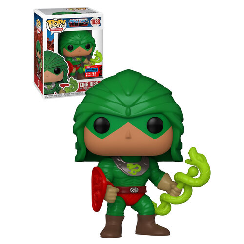 Funko POP! Masters Of The Universe #1038 King Hiss - Funko 2020 New York Comic Con (NYCC) Limited Edition - New, Mint Condition