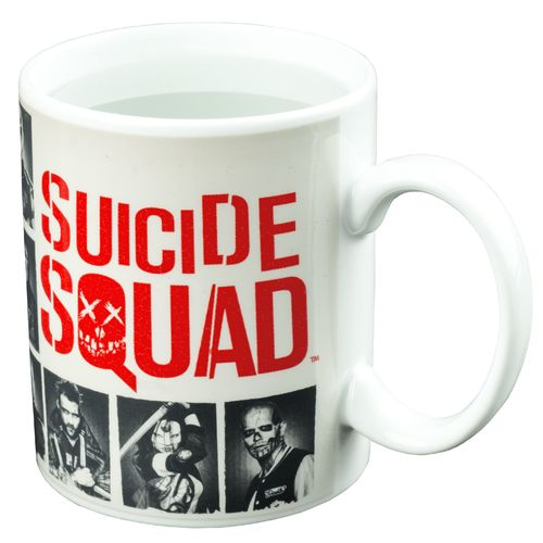 Suicide Squad - SKWAD Heat Changing Coffee Mug - Licensed, New In Box